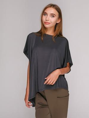 Блуза темно-серая   3270819