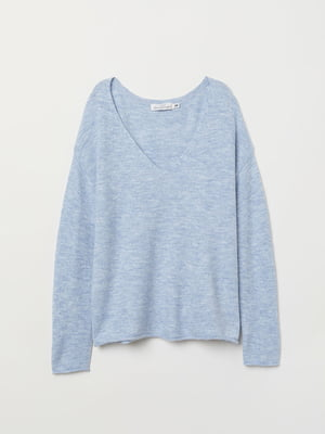 Пуловер голубой | 5112844