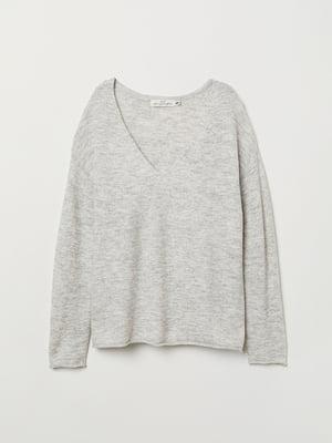 Пуловер сірий | 5112846