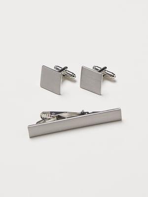 Набір: запонки та зажим для галстука | 5112876