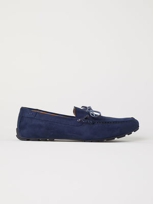 Лоферы синие | 5113028