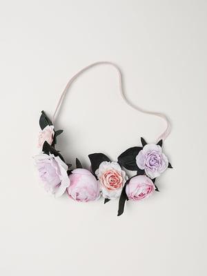 Ободок для волос розовый | 5113108