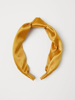 Ободок для волос желтый | 5113114