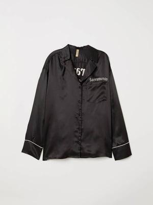 Рубашка черная | 5113259