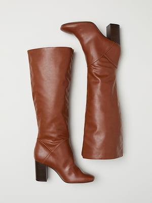 Чоботи коричневі | 5113270