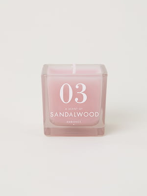 Свеча розовая | 5113276