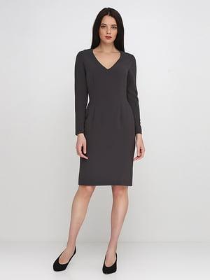 Сукня графітового кольору | 5140627