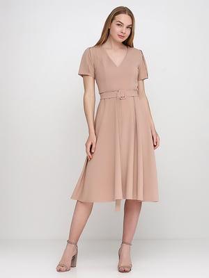 Сукня бежева | 5140629