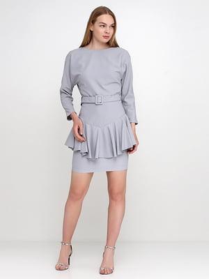 Сукня сіро-блакитна | 5140631