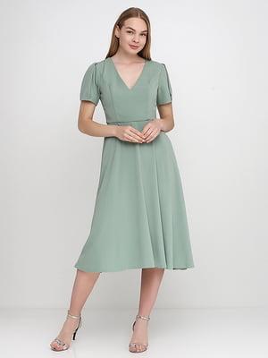 Сукня кольору м'яти | 5140675