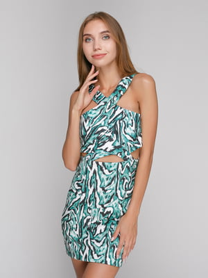 Платье абстрактной расцветки | 4525681