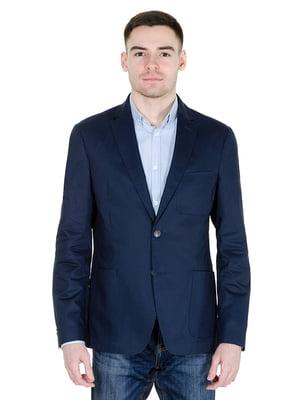 Пиджак синий | 4495470