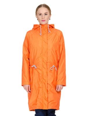 Плащ оранжевый | 4695372