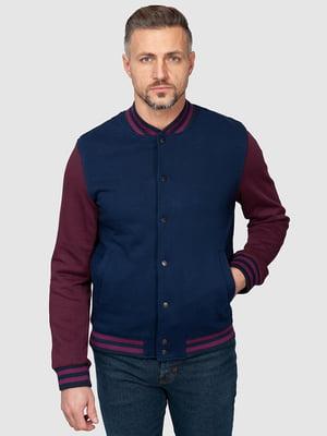 Куртка синя | 5140276