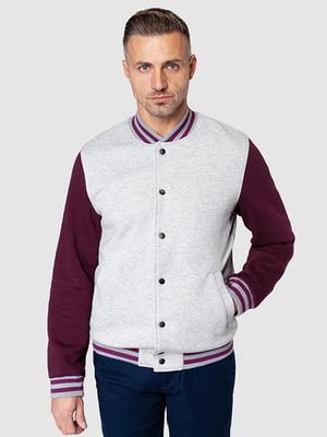Куртка бордова | 5140277