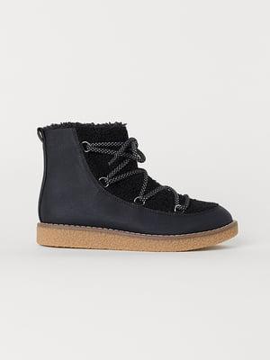 Ботинки черные | 5136238