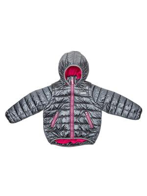 Куртка-трансформер серебристая | 5140555