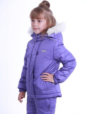 Термокуртка фиолетовая | 5140606