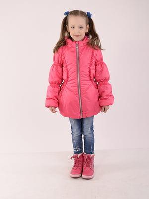 Куртка малинового кольору | 5140543