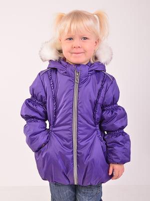 Куртка фіолетова | 5140545