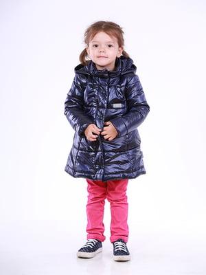 Пальто синє | 5140551