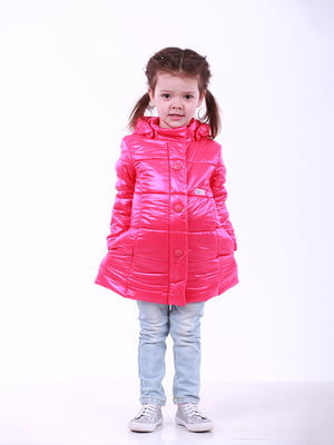 Пальто малинового кольору | 5140552