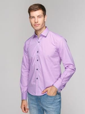Рубашка сиреневая | 5114374
