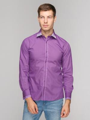Рубашка фиолетовая | 5114368