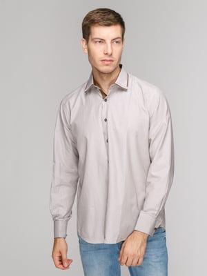 Рубашка бежевая | 5114388
