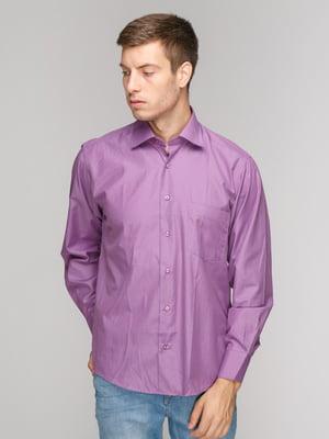 Рубашка фиолетовая | 5114366