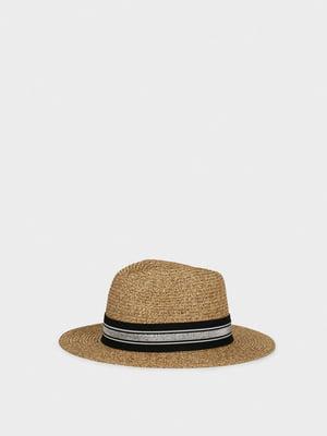 Шляпа бежевая | 5137396