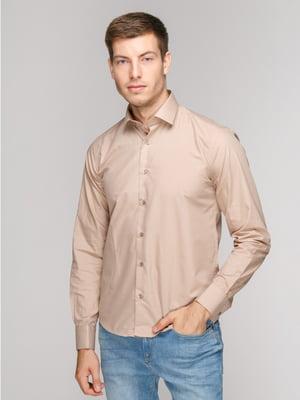 Рубашка бежевая | 5114383