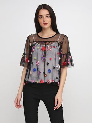 Блуза черная | 5140637