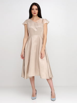 Сукня бежева | 5140641