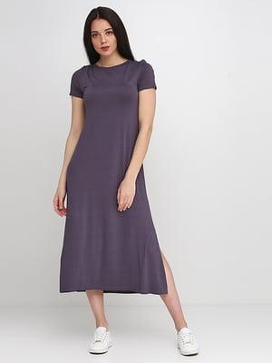 Сукня графітового кольору | 5140642