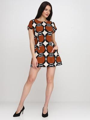 Сукня коричнева | 5140646