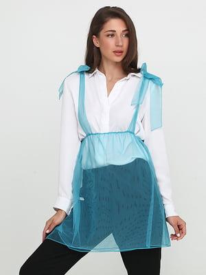 Блуза голубая | 5140688