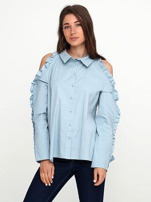 Сорочка блакитна | 5140689