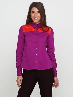 Сорочка фіолетова | 5140692