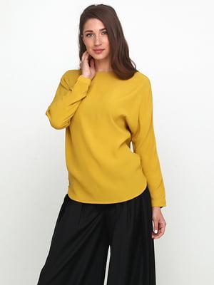 Блуза горчичного цвета | 5140709