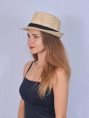 Шляпа бежевая   5141524