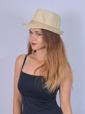 Шляпа бежевая   5141525