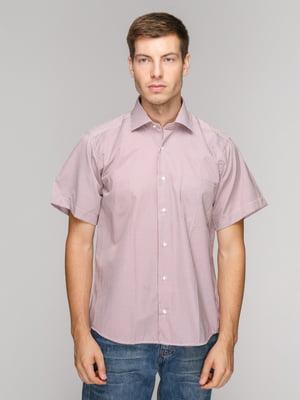 Рубашка красная в полоску | 5114399