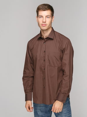 Рубашка коричневая   5114377