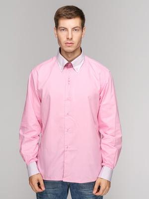 Рубашка розовая | 5114356