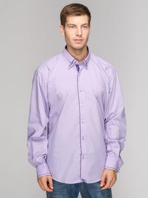 Рубашка сиреневая | 5114392
