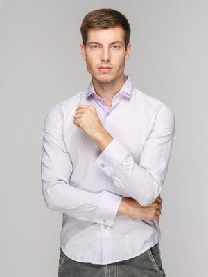 Рубашка фиолетовая | 5114353