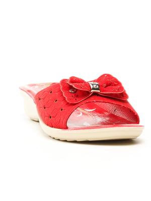 Шлепанцы красные | 5120053
