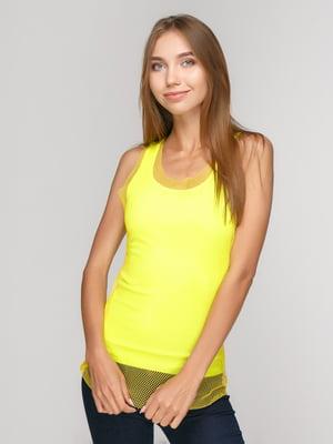 Майка лимонного кольору | 5120063
