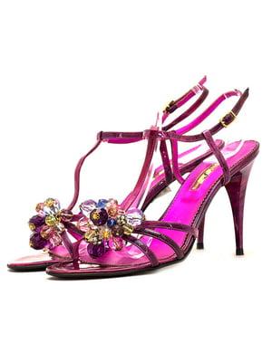 Босоножки фиолетовые | 5026715